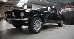 1968 Ford Mustang GT302 Raven Black