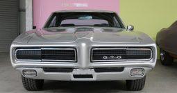 Pontiac GTO 1969 silber