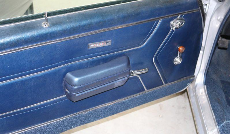 Pontiac GTO 1969 silber voll