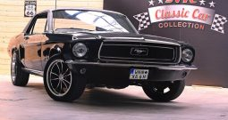 Ford Mustang Coupe 1968 schwarz