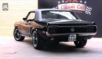 Ford Mustang Coupe 1968 schwarz full