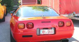 Chevrolet Corvette C4 1994 rot
