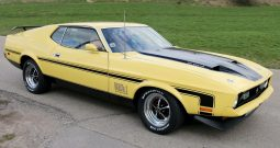 Ford Mustang 72 Fastback Mach 1