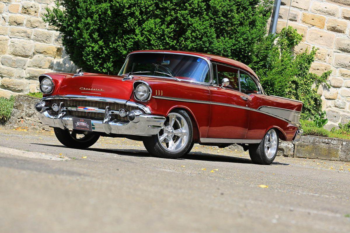 Chevrolet Bel Air 1957 Rot Nr Classic Car Collection Stuttgart