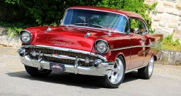 Chevrolet Bel Air 1957 rot