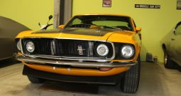 Ford Mustang 1969 Fastback Mach 1 gelb