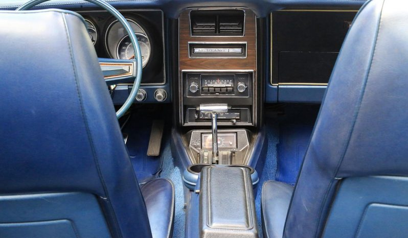 Ford Mustang Cabrio 1972 weiß voll