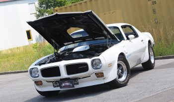 Pontiac Trans AM 1972 weiß voll