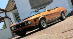Ford Mustang Cabrio 1973 bronze