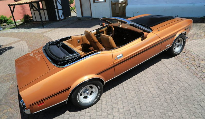 Ford Mustang Cabrio 1973 bronze full