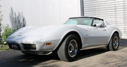 Chevrolet Corvette 1977 weiß