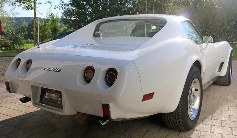 Chevrolet Corvette 1977 weiß voll