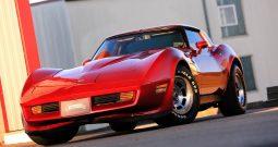 Chevrolet Corvette C3 1981 rot