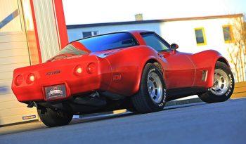 Chevrolet Corvette C3 1981 rot voll