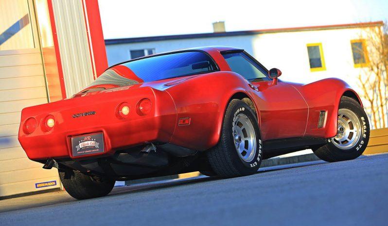 Chevrolet Corvette C3 1981 rot full
