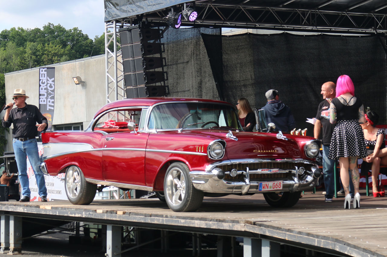 Chevrolet Bel Air 1957 rot | NR Classic Car Collection ...