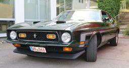 Ford Mustang 1972 Mach 1 Fastback grün metallic