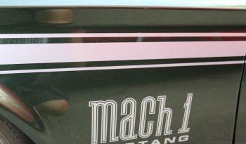 Ford Mustang 1972 Mach 1 Fastback grün metallic full