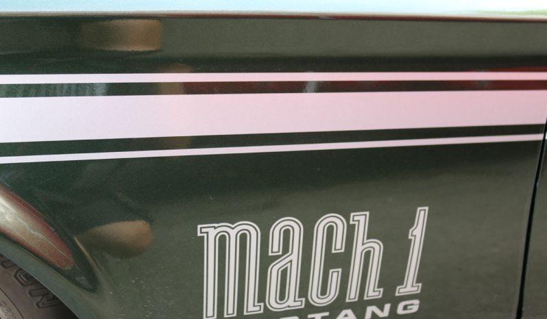 Ford Mustang 1972 Mach 1 Fastback grün metallic voll