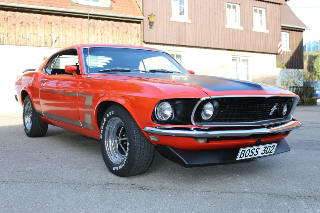 Ford Mustang Boss 302 Bj 1969 Nr Classic Car Collection Stuttgart Voll