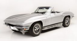 Chevrolet Corvette C2 1965 Stingray Cabrio silber