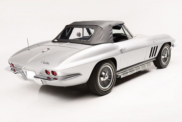Chevrolet Corvette C2 1965 Stingray Cabrio silber full