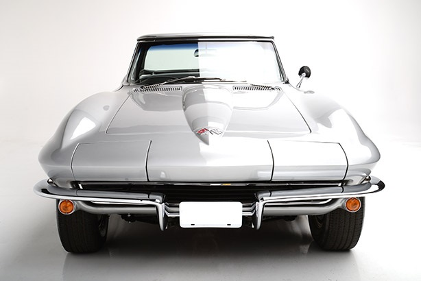 chevrolet corvette c2 1965 stingray cabrio silber nr. Black Bedroom Furniture Sets. Home Design Ideas