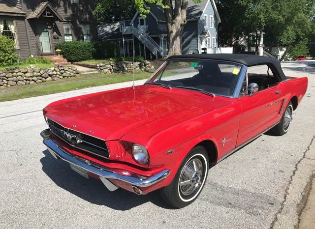 ford mustang cabrio 1965 rot nr classic car collection
