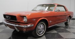 Ford Mustang 289 CUI 1966 Rot