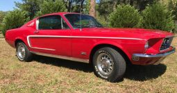 Ford Mustang GT 390 BJ 1968 rot