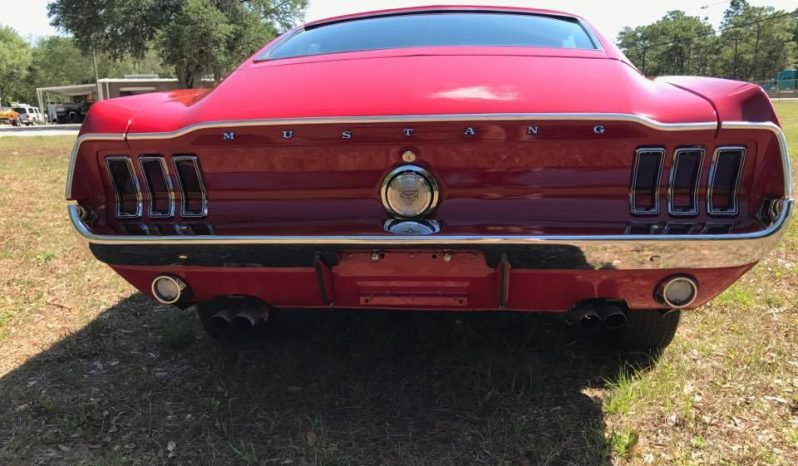 Ford Mustang GT 390 BJ 1968 rot voll