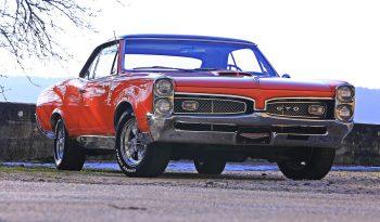 Pontiac GTO 1967 Rot