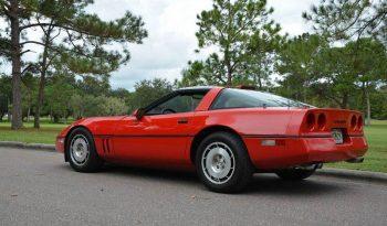 Chevrolet Corvette C4 1986 rot voll