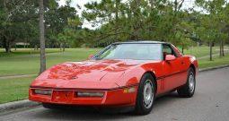 Chevrolet Corvette C4 1986 rot