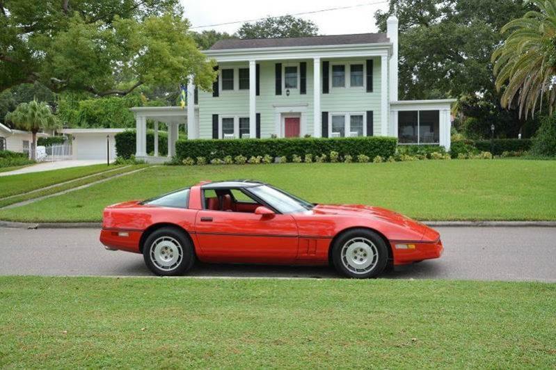 chevrolet corvette c4 1986 rot nr classic car collection. Black Bedroom Furniture Sets. Home Design Ideas