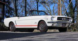 Ford Mustang 289 V8 Cabrio 1965 weiß