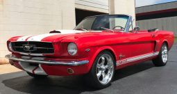 Ford Mustang Cabrio GT 350 clone BJ 1965 Rot/Weiss