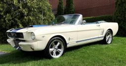 Ford Mustang Cabrio 1966 weiß Shelby/Bullit Optik