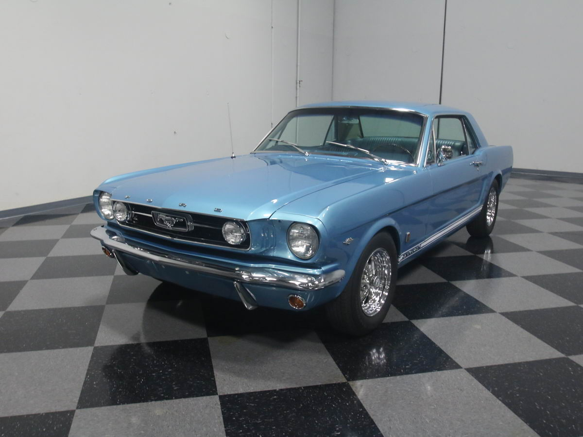 ford mustang gt 1966 hellblau nr classic car collection stuttgart. Black Bedroom Furniture Sets. Home Design Ideas
