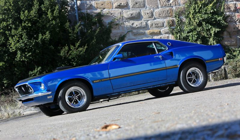 Ford Mustang BJ 1969 Mach 1 Q code big block 428 CJ voll