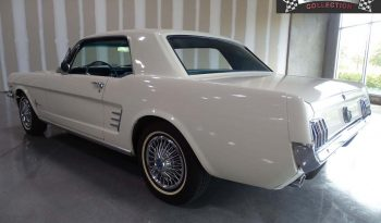Ford Mustang Coupe 1966 weiß voll