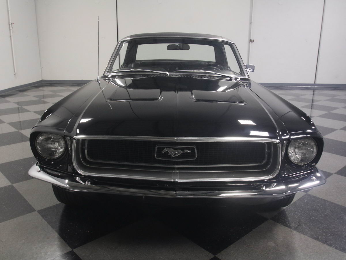 ford mustang coupe 1968 schwarz nr classic car collection stuttgart. Black Bedroom Furniture Sets. Home Design Ideas