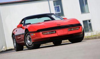 Chevrolet Corvette C4 BJ 1984 Targa Rot