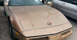 Chevrolet Corvette C4 BJ 1985 Targa Gold