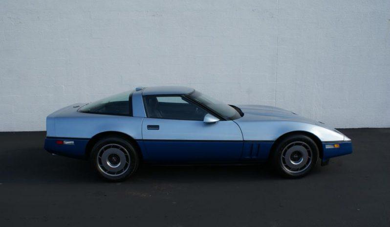 Chevrolet Corvette C4 BJ 1986 Targa hellblau voll
