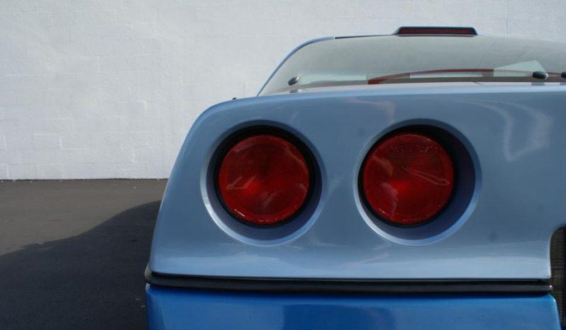Chevrolet Corvette C4 BJ 1986 Targa hellblau full