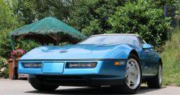 Chevrolet Corvette C4 1989 hellblau