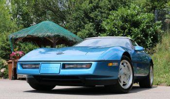 Chevrolet Corvette C4 1989 hellblau voll