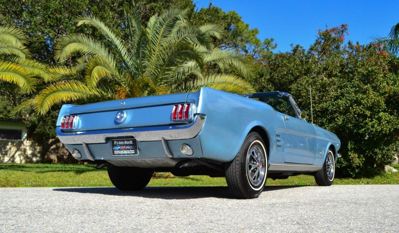 Ford Mustang Cabrio BJ 1966 Rally Pac Blau voll