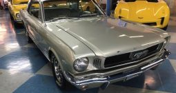 Ford Mustang Coupe BJ 1966 Silber